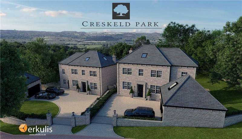 5 Bedrooms Detached House for sale in Creskeld Park, Bramhope, Leeds