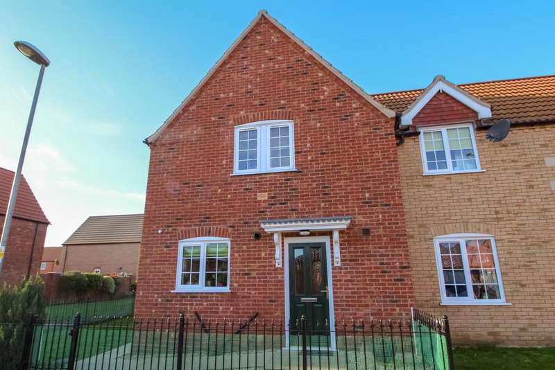 3 Bedrooms End Of Terrace House for sale in Spalding, Lincolnshire