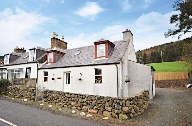 3 Bedrooms Semi Detached Bungalow for sale in River View, Pinwherry, South Ayrshire, KA26 0RU