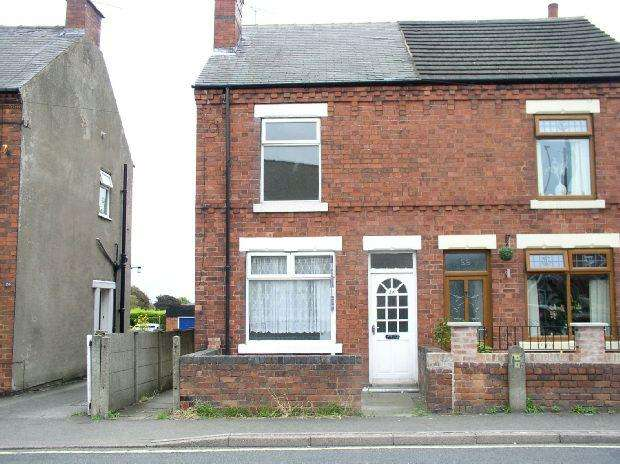 2 Bedrooms Semi Detached House for sale in Market Street, South Normanton