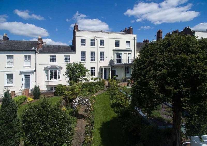 5 Bedrooms Terraced House for sale in Rainbow Hill Terrace, Worcester, Worcestershire, WR3
