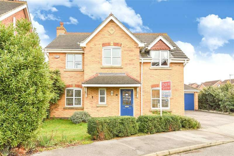 4 Bedrooms Detached House for sale in Goodwood Way, Lincoln, LN6