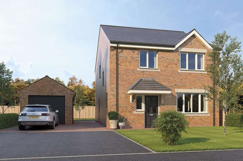 4 Bedrooms Detached House for sale in The Rosedene, The Croft II, Calow, S44