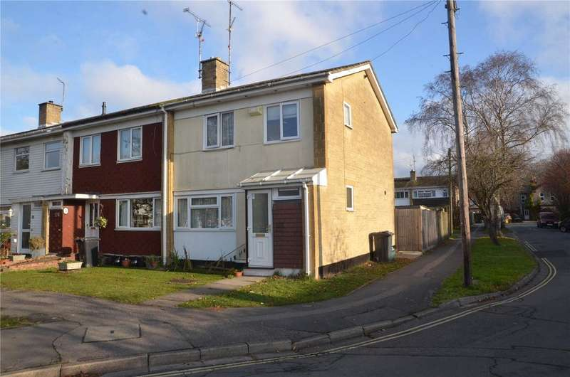3 Bedrooms End Of Terrace House for sale in Meadow Way, Theale, Reading, RG7