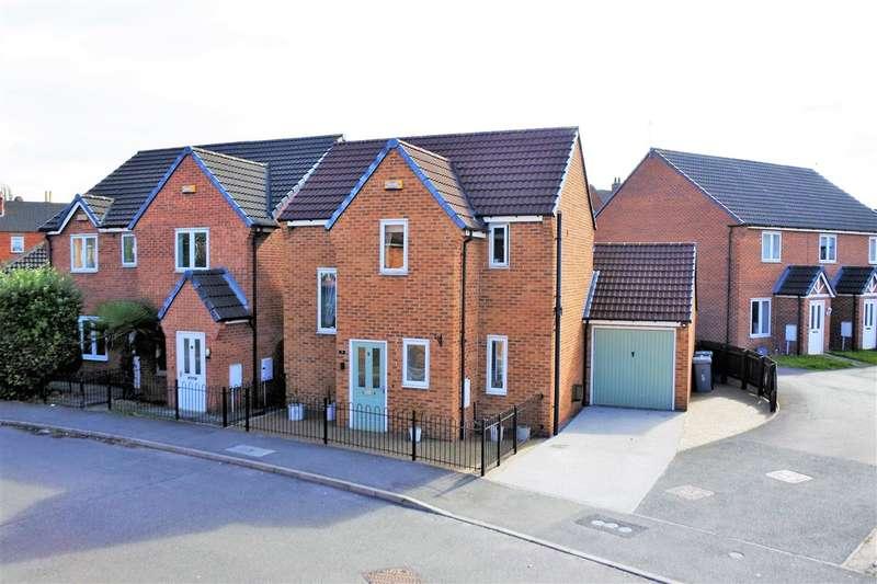 3 Bedrooms Detached House for sale in Hudson Way, Grantham