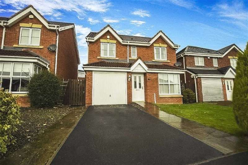 4 Bedrooms Detached House for sale in Blencathra Way, Blaydon, Tyne And Wear