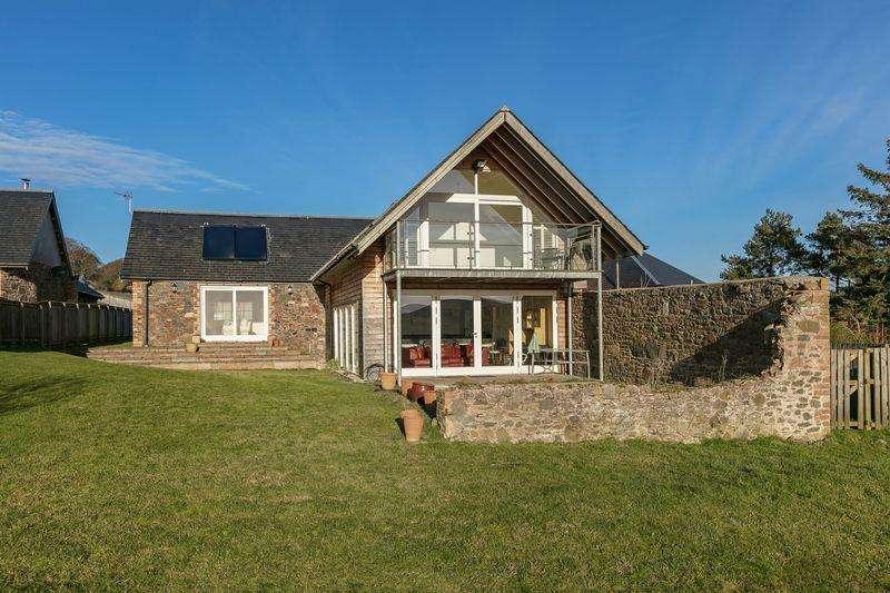 4 Bedrooms Detached House for sale in Huntshaw Cottage, Huntshaw, Earlston
