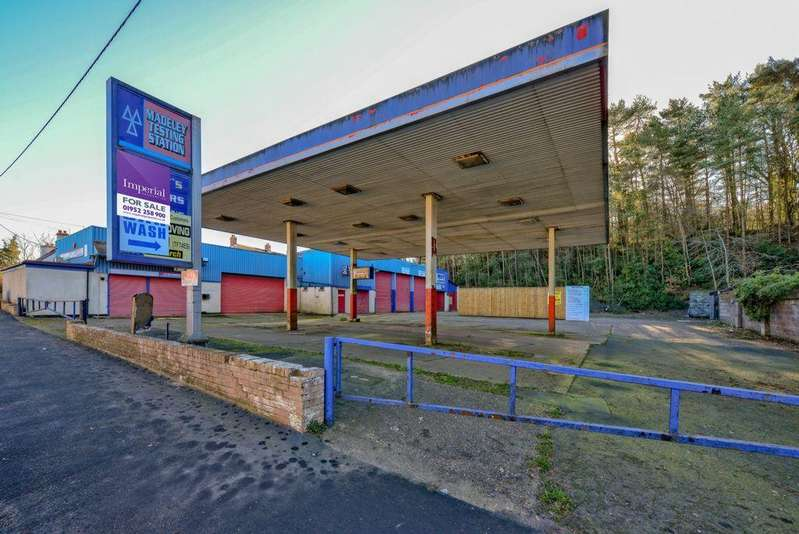 Land Commercial for sale in Ironbridge Road, Madeley, TF7