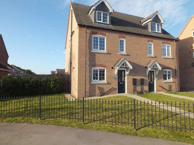 4 Bedrooms Semi Detached House for sale in The Hayfields, Spalding