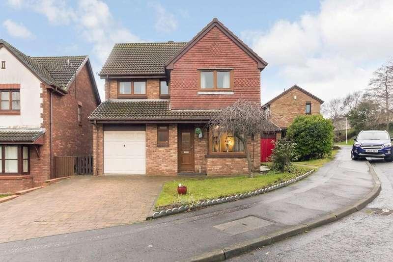 4 Bedrooms Detached House for sale in 3 Glen Artney Grove, Dunfermline, KY11 8FD