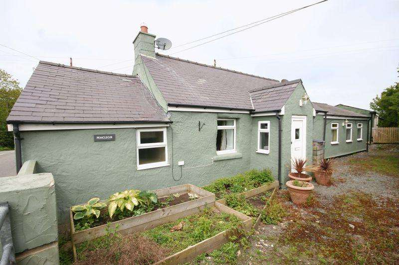 3 Bedrooms Cottage House for sale in Tynlon, Anglesey