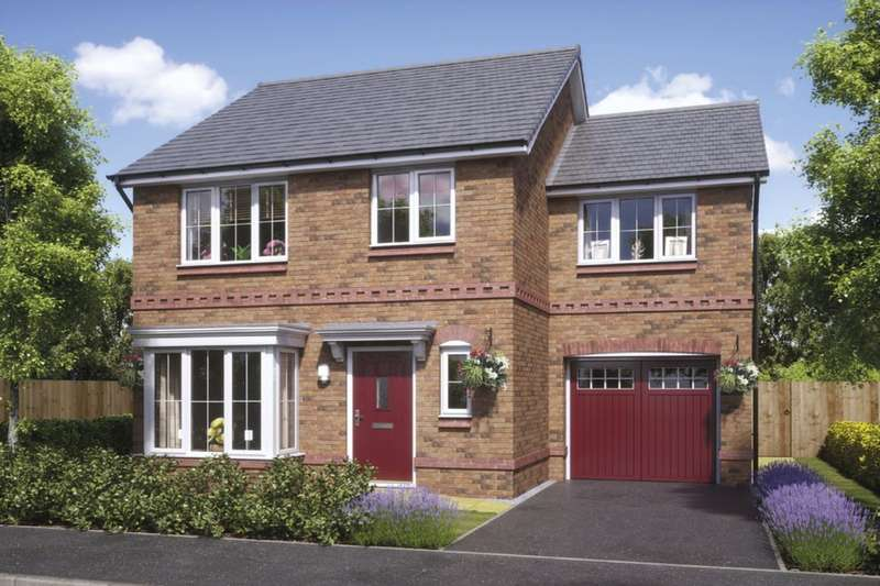 4 Bedrooms Detached House for sale in The Lymington Stanbury Avenue, Wednesbury, WS10