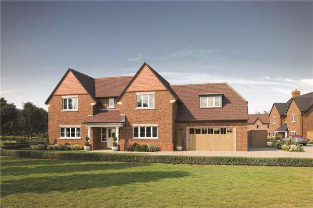 5 Bedrooms Detached House for sale in Woodhurst Park, Warfield, Berkshire