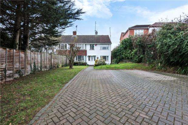 4 Bedrooms Semi Detached House for sale in Loddon Bridge Road, Woodley, Reading