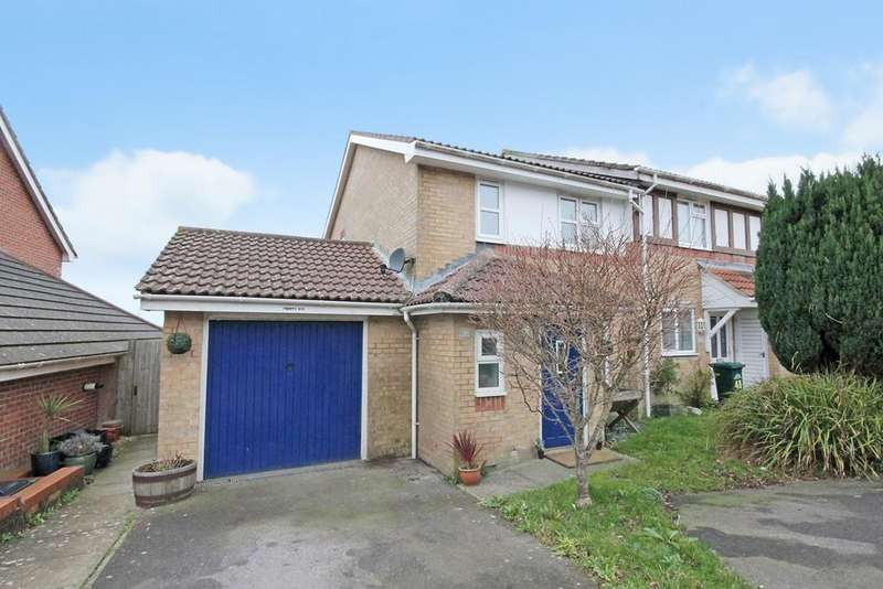 3 Bedrooms Semi Detached House for sale in Sheppard Way, Portslade, Brighton, BN41 2JD