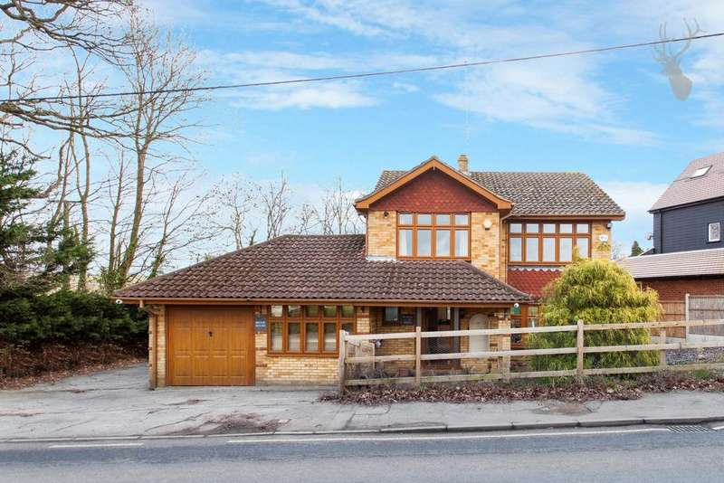 4 Bedrooms Detached House for sale in Tysea Hill, Stapleford Abbotts, RM4