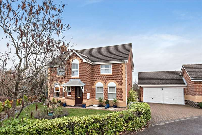 4 Bedrooms Detached House for sale in Dunford Place, Temple Park, Binfield, Berkshire, RG42