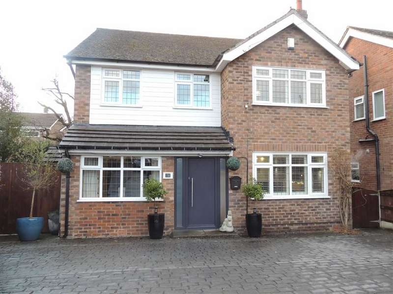 4 Bedrooms Detached House for sale in Kings Drive, Marple, Stockport