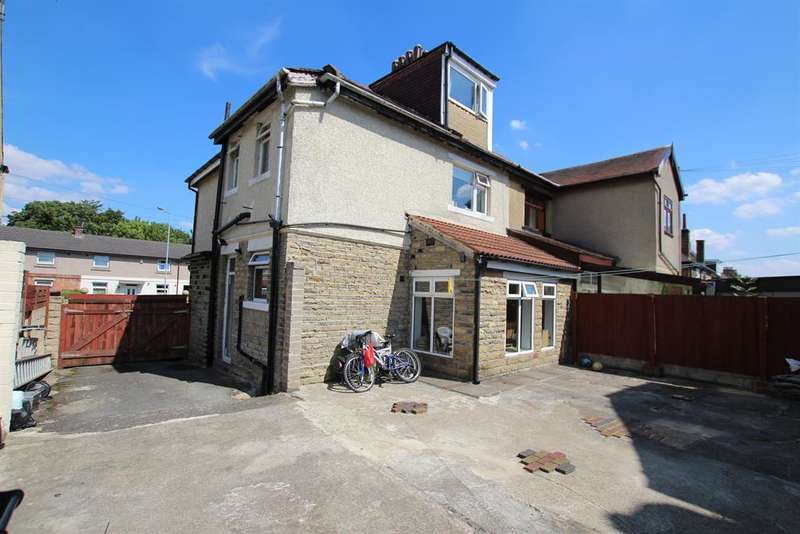 5 Bedrooms Semi Detached House for sale in Upper Rushton Road, Bradford, BD3 7LB