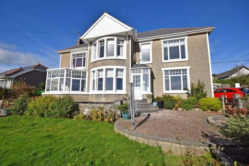 5 Bedrooms Detached House for sale in Par, Nr. Fowey, Cornwall