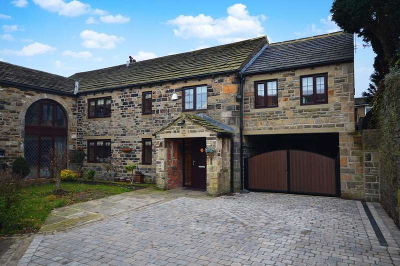 5 Bedrooms Barn Conversion Character Property for sale in Wyke Lane, Oakenshaw, Bradford