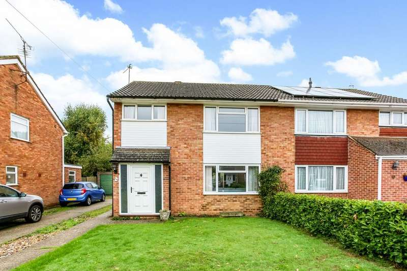 4 Bedrooms Semi Detached House for sale in Underwood Road, Reading, RG30