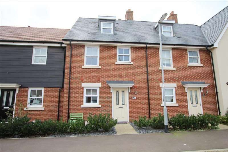 3 Bedrooms Terraced House for sale in Walker Mead, Biggleswade, SG18