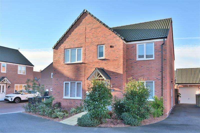 5 Bedrooms Detached House for sale in Honeysuckle Road, Witham St Hughs, Lincoln