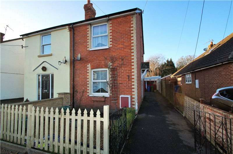 2 Bedrooms Semi Detached House for sale in Branksome Hill Road, College Town, Sandhurst, Berkshire, GU47