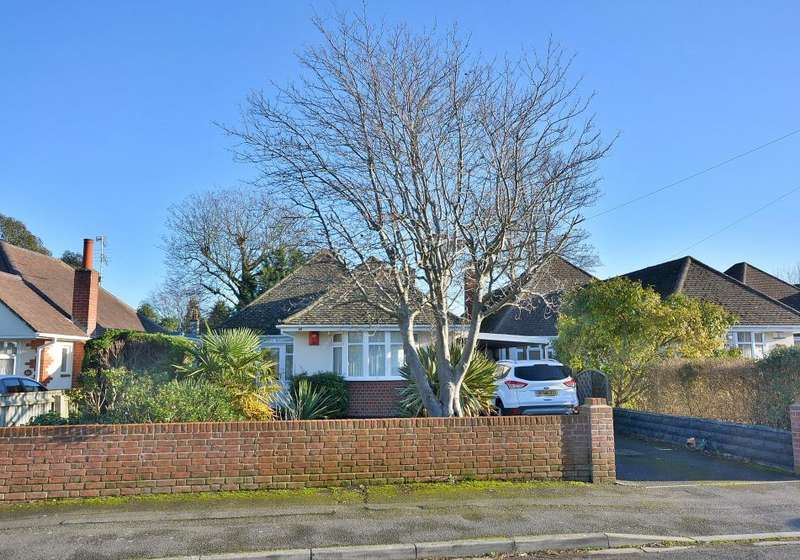 3 Bedrooms Detached Bungalow for sale in Avebury Avenue, Northbourne