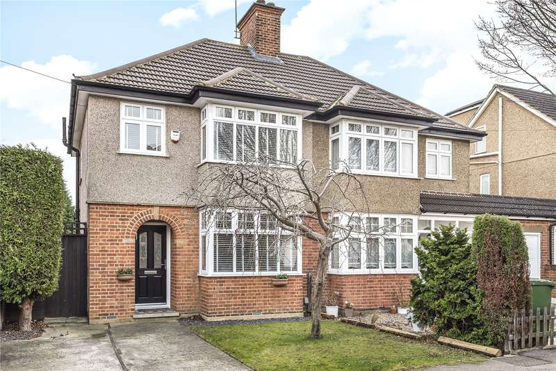 3 Bedrooms Semi Detached House for sale in Munden Grove, Watford, Hertfordshire, WD24