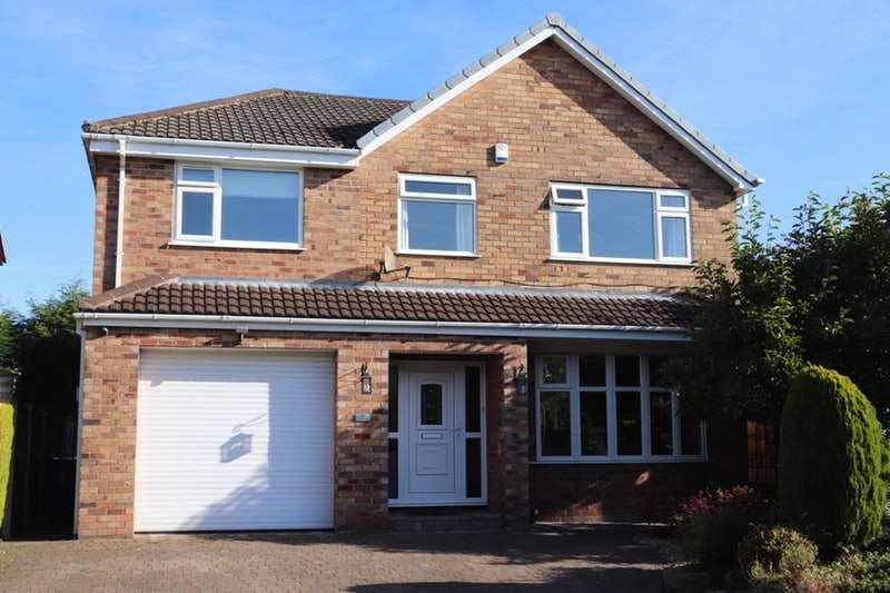 4 Bedrooms Detached House for sale in Glenside, Wigan, Lancashire, WN6