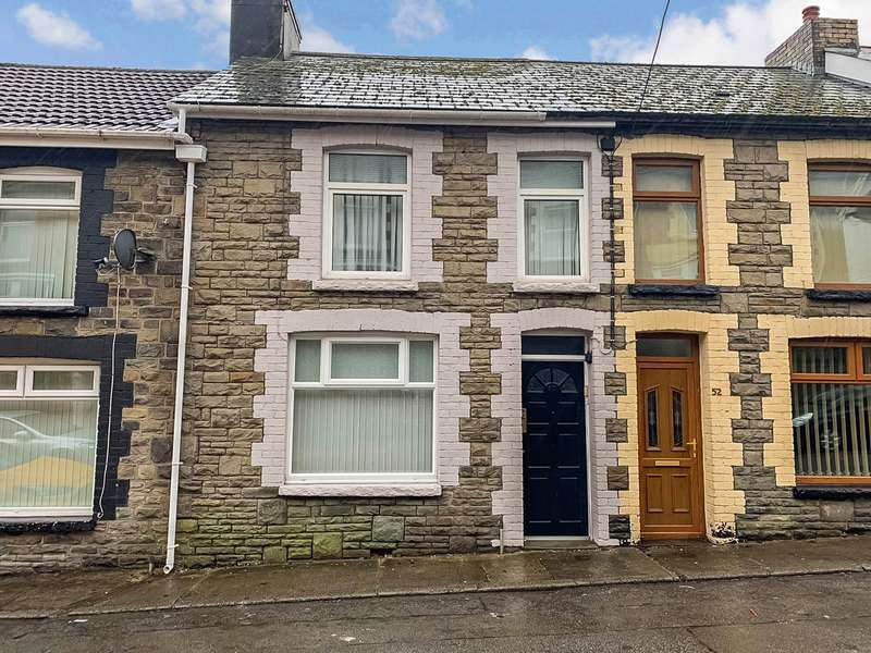 2 Bedrooms Terraced House for sale in Duke Street, Abertillery, NP13