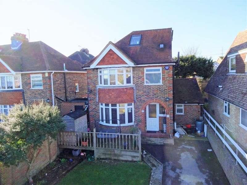 4 Bedrooms Detached House for sale in Mile Oak Road, Portslade