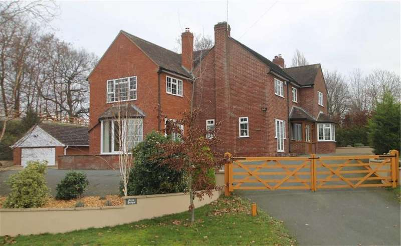 5 Bedrooms Detached House for sale in Ford, Shrewsbury