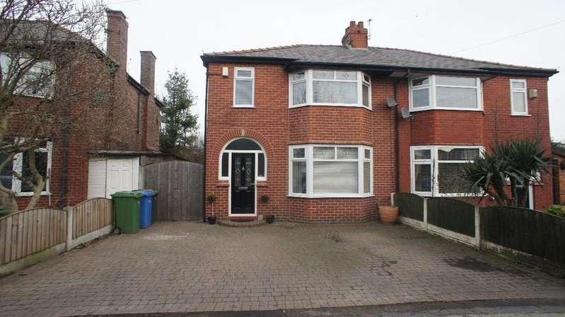 3 Bedrooms Semi Detached House for sale in Hillock Lane, Woolston, Warrington