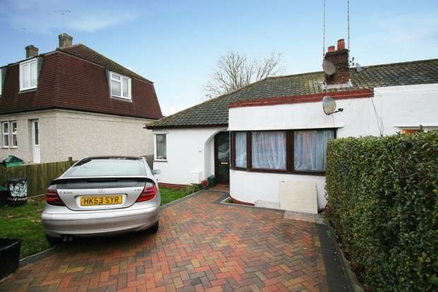 Semi Detached Bungalow for sale in Trentham Drive, Orpington, Greater London, BR5 2EP