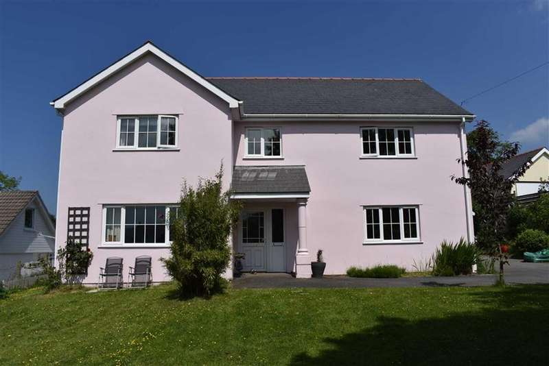 4 Bedrooms Detached House for sale in Cilcennin, Lampeter, Ceredigion