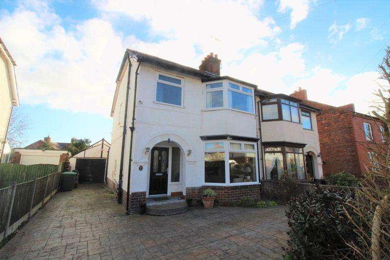 3 Bedrooms Semi Detached House for sale in Acton Road, Wrexham
