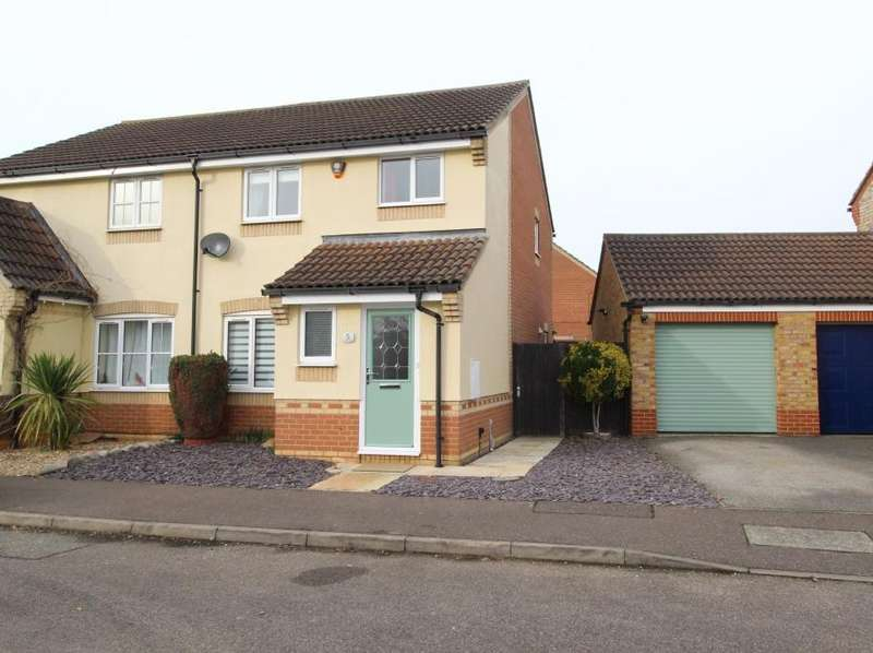 3 Bedrooms Semi Detached House for sale in Chapel Field, Gamlingay, Bedfordshire SG19
