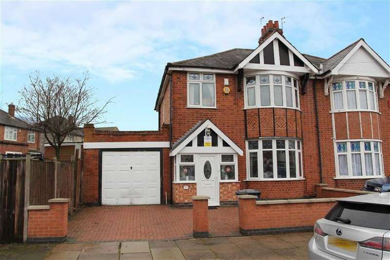 3 Bedrooms Semi Detached House for sale in Somerville Road, Rowley Fields, Leicester