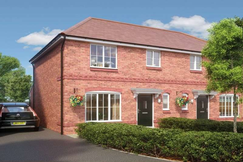 3 Bedrooms Semi Detached House for sale in Wards Keep, Darlaston, Wednesbury, WS10