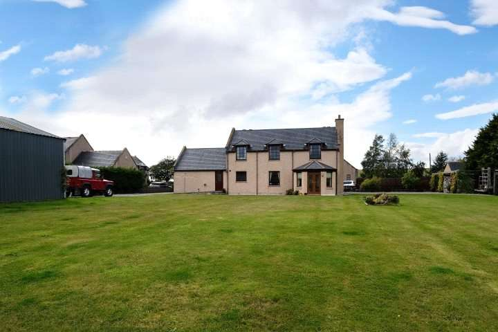 4 Bedrooms Detached House for sale in Glinne View, Wester Gauldwell, Craigellachie, Aberlour, Moray, AB38