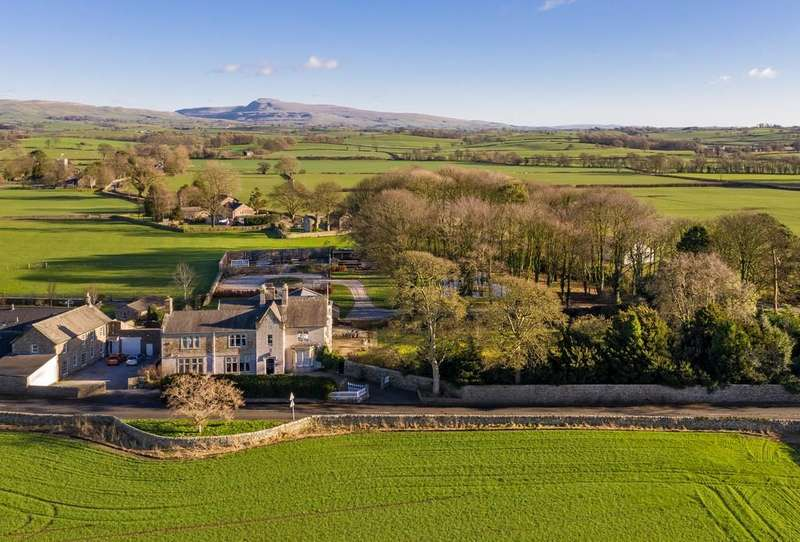 6 Bedrooms Detached House for sale in Tunstall House, Tunstall, Near Kirkby Lonsdale, Lancashire, LA6 2QW