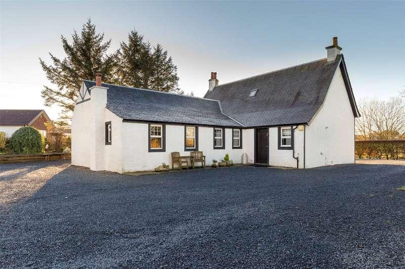 3 Bedrooms Detached House for sale in Elvinside, Galston Road, Hurlford, Kilmarnock, East Ayrshire, KA1