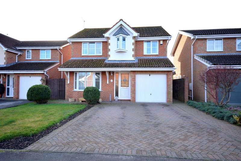 4 Bedrooms Detached House for sale in Bainbridge Court, St. Helen Auckland, Bishop Auckland, DL14 9EJ