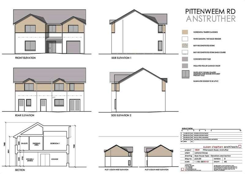 4 Bedrooms Detached House for sale in Plot 2, Pittenweem Road, Anstruther