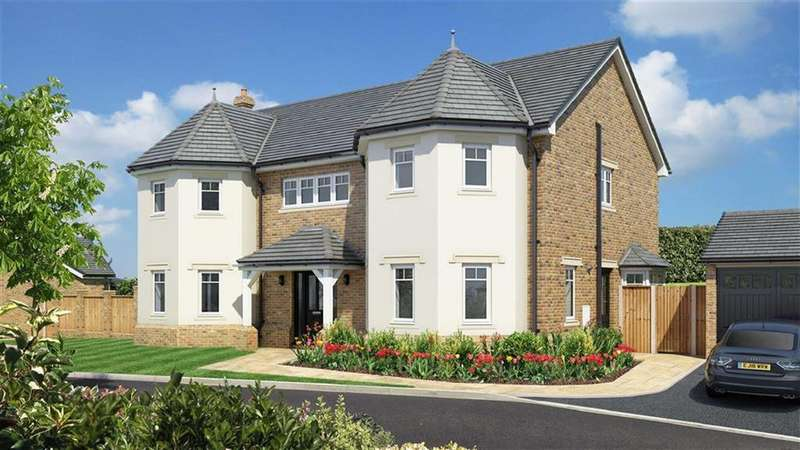 5 Bedrooms Detached House for sale in Plot 2 Henlle Ridge, Chirk Road, Henlle, Oswestry, Shropshire, SY11