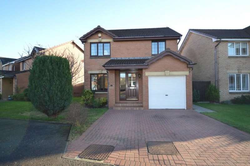 3 Bedrooms Detached House for sale in Maryfisher Crescent, Dumbarton G82 1BJ
