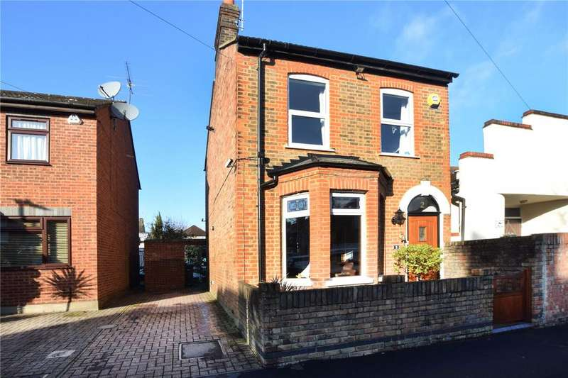 4 Bedrooms Detached House for sale in Diamond Road, Watford, Hertfordshire, WD24